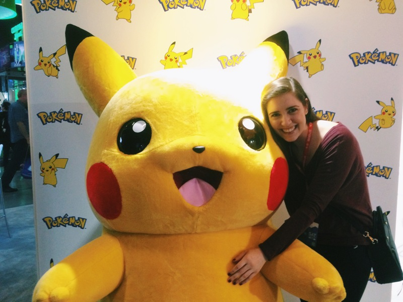 Me with Pikachu at PAX PRIME 2015