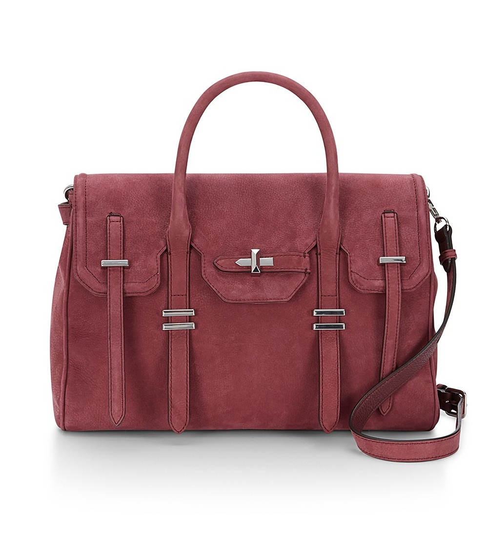 Rebecca Minkoff Suede Jules Satchel | Rebecca Minkoff Bags and Tech Accessories