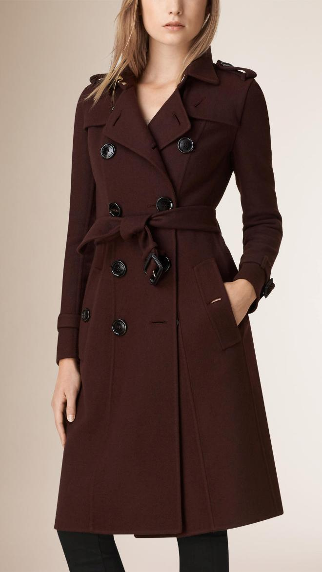 Burberry Cashmere Trench Coat | Burberry Coats Fall 2015