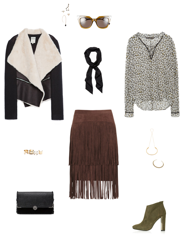 How She'd Wear It with Style and Cheek - Fringed Boho Chic