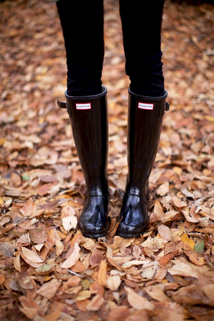 Hunter Boots   Pink Peonies   Fall Inspiration