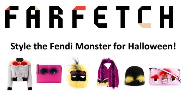 Style the Fendi Monster with Farfetch