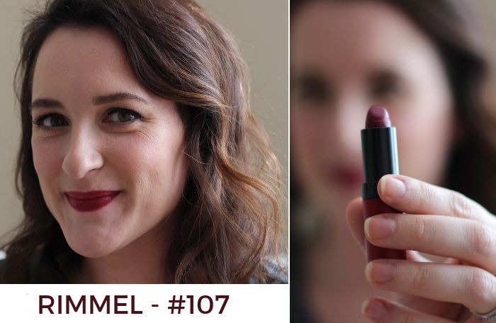 Beauty Basics - Must Have Lips for Fall: Rimmel #107 | Favorite Blog Posts of 2015