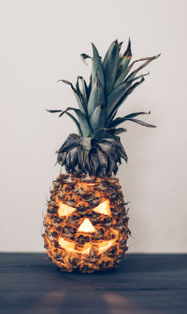 why don't we – carve a pineapple? | A Subtle Revelry | DIY Pumpkin Decorations