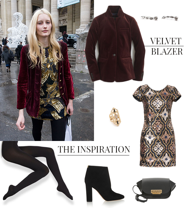 How She'd Wear It with Style and Cheek – Velvet Blazers