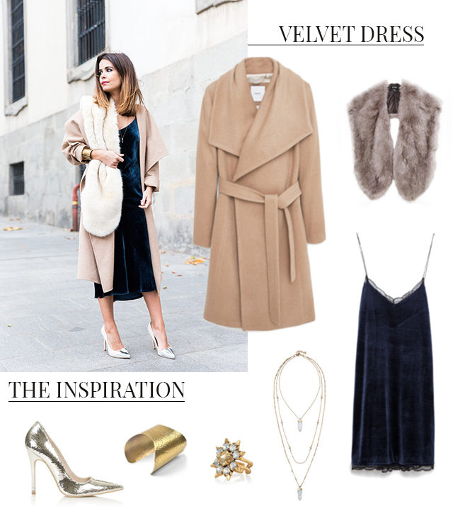 How She'd Wear It with Style and Cheek – Velvet Dresses | Favorite Blog Posts of 2015