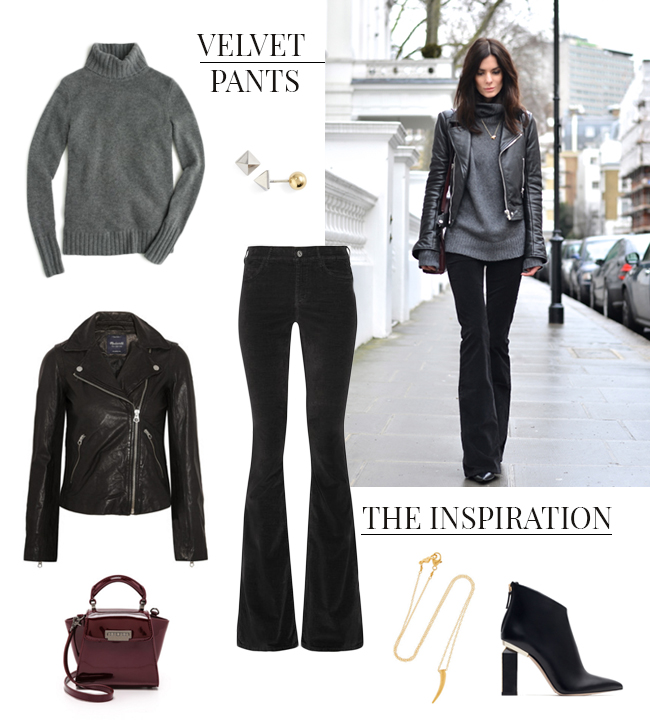 Velvet Pants | How She'd Wear It with Style and Cheek