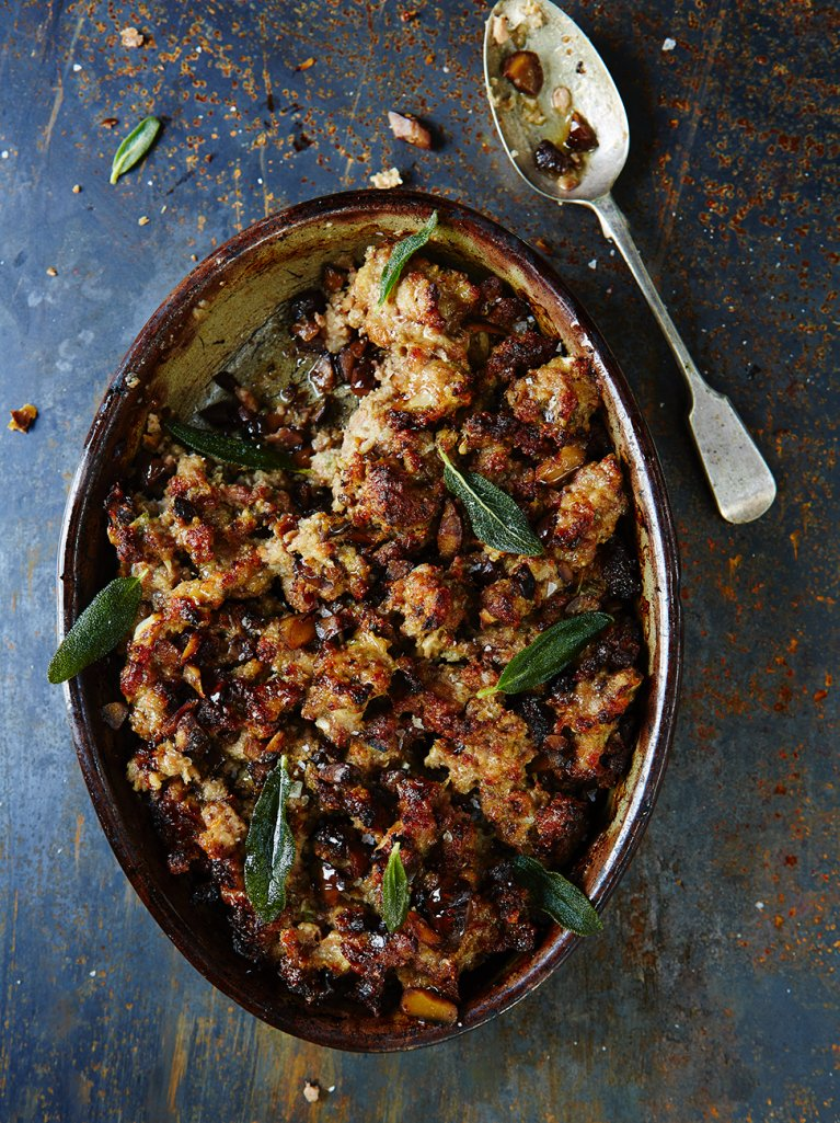 Pork Stuffing | Jamie Oliver | Drool Worthy Thanksgiving Side Dishes
