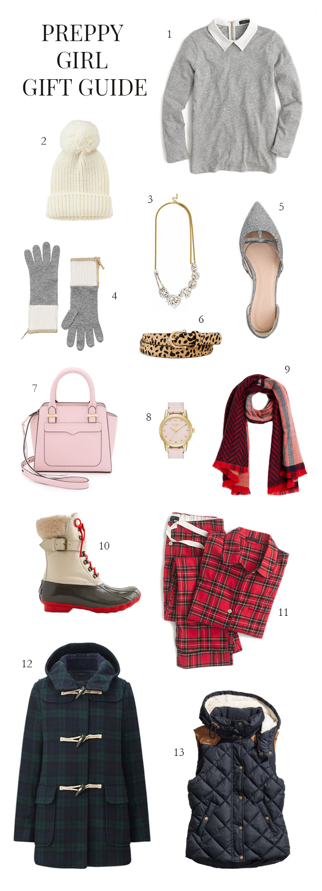 Preppy Girl Gift Guide 2015 | Style and Cheek