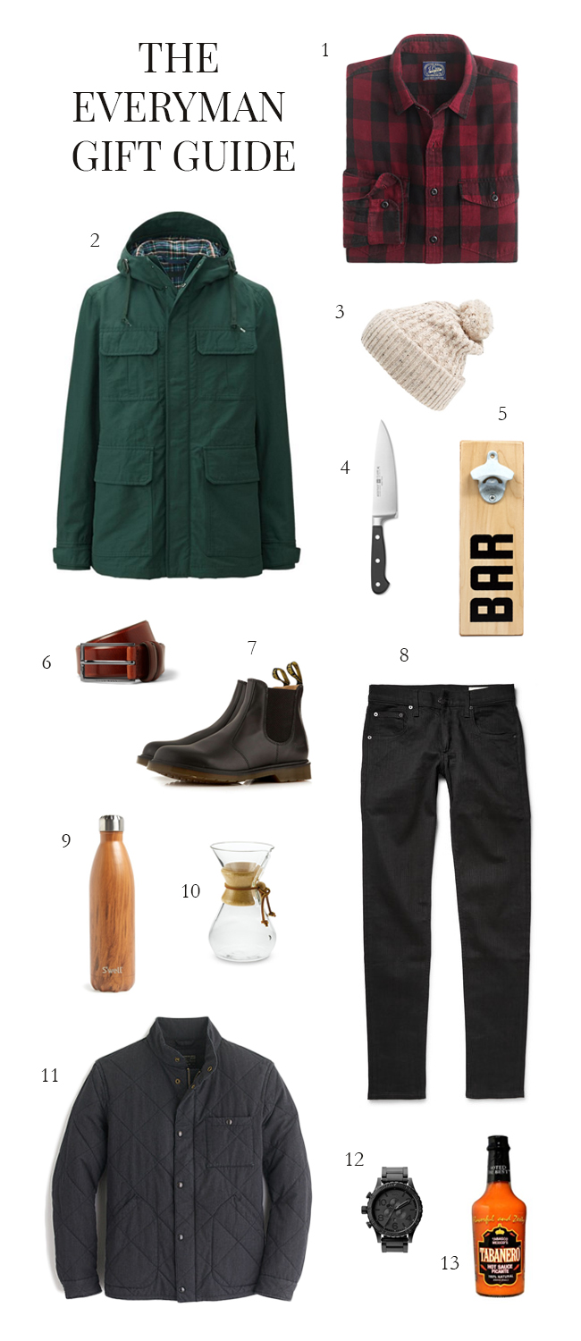 The Everyman Gift Guide 2015 | Style and Cheek