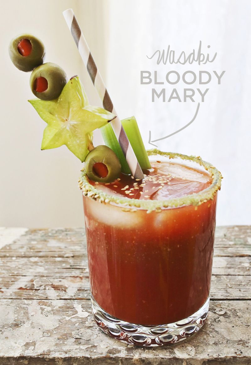 Wasabi Bloody Mary   A Beautiful Mess   Hangover Cures
