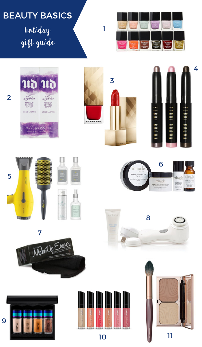 Holiday Beauty Gift Guide | Beauty Basics