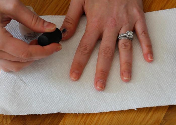 Holiday Nail Art: Step 1   Beauty Basics