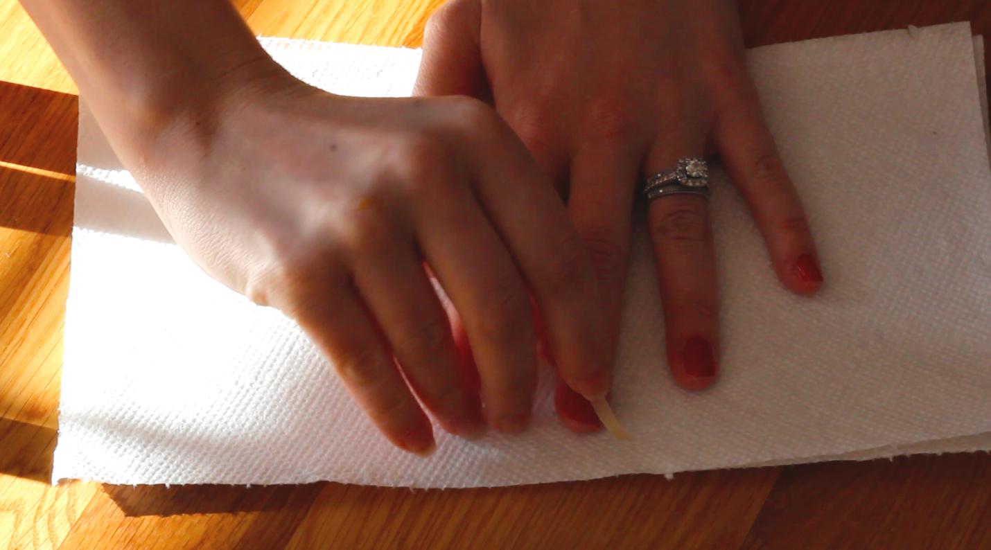 Holiday Nail Art: Step 3   Beauty Basics