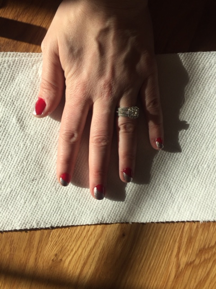 Holiday Nail Art: Step 4   Beauty Basics