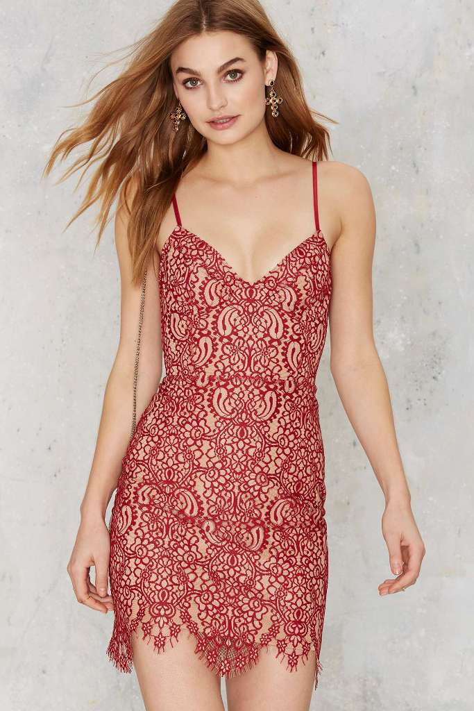 For Love & Lemons Vika Mini Dress | Sexy New Year's Eve Dresses