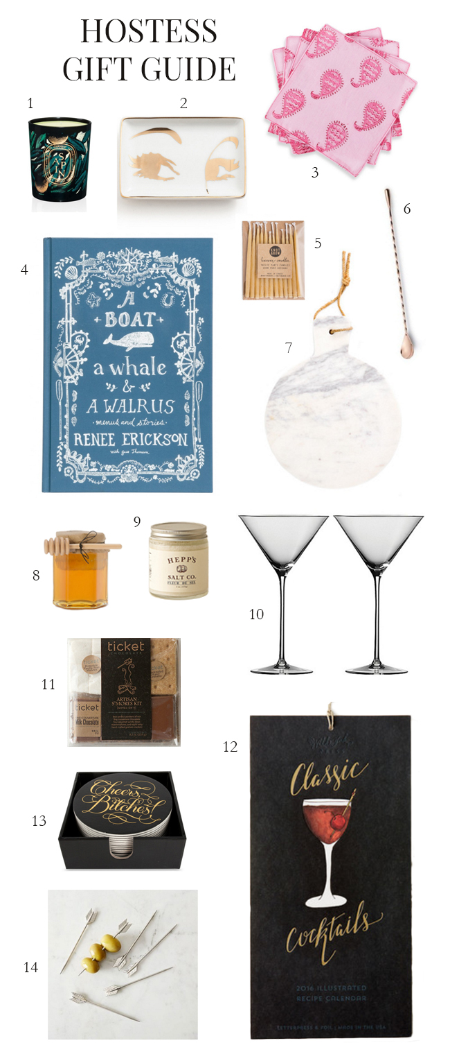 Hostess Gift Guide 2015 with Style and Cheek