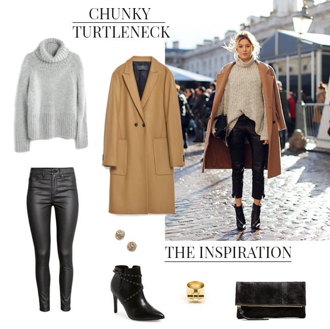 How She'd Wear It with Style and Cheek - Chunky Turtlenecks