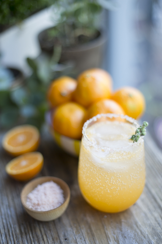 Sunny Winter Cocktail | The Sweetest Occasion | Winter Cocktails