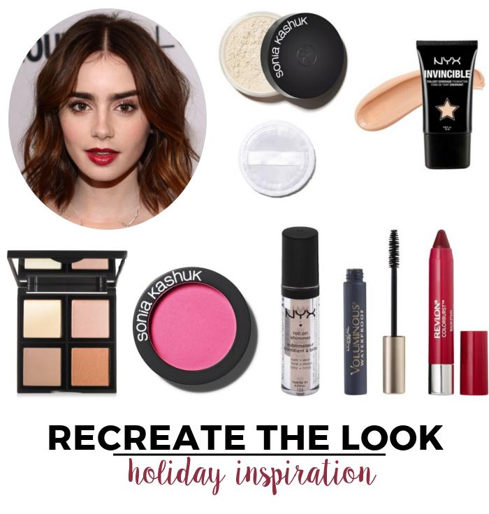 Recreate The Look Holiday Inspiration   Beauty Basics