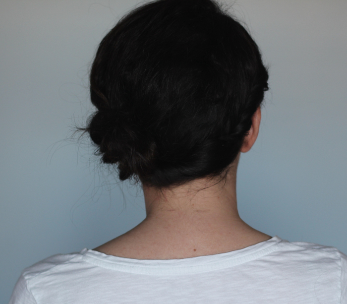Holiday Hair Updos: Side Gather Bun - Step 2 | Beauty Basics