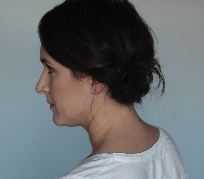 Holiday Hair Updos: Side Gather Bun - Step 3 | Beauty Basics