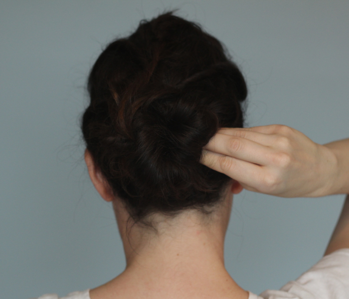 Holiday Hair Updos: Twisted Messy Bun - Step 4 | Beauty Basics