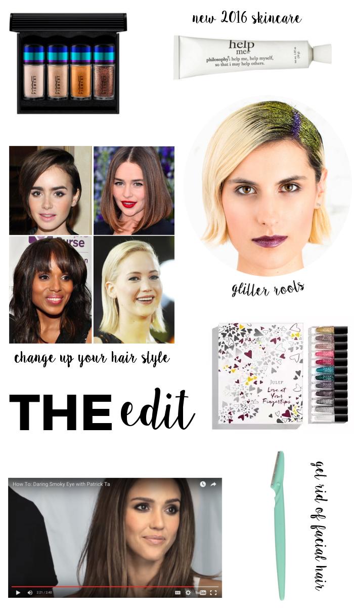 The Edit | Beauty Basics - December Beauty Edit