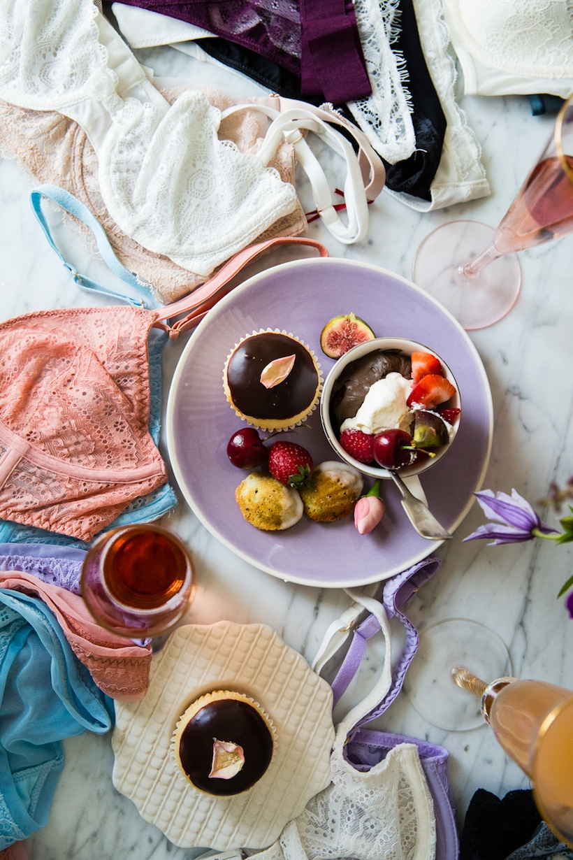 Valentine's Day Ideas - A Lingerie Pop-Up Party | Camille Styles