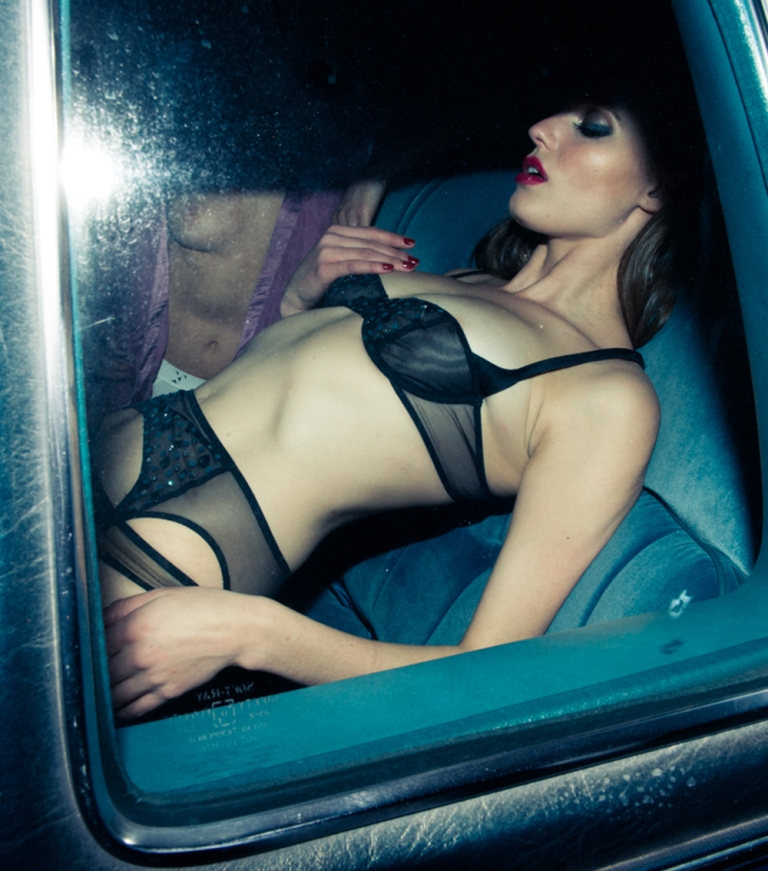 fleur du mal lingerie Black Queen Of The Night Balconette