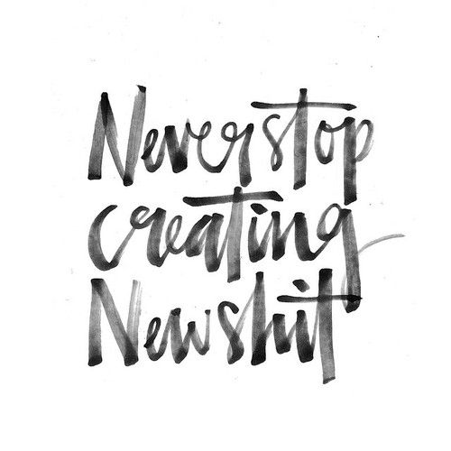 Never Stop Creating New Shit | Style and Cheek's Favorite Blog Posts of 2015