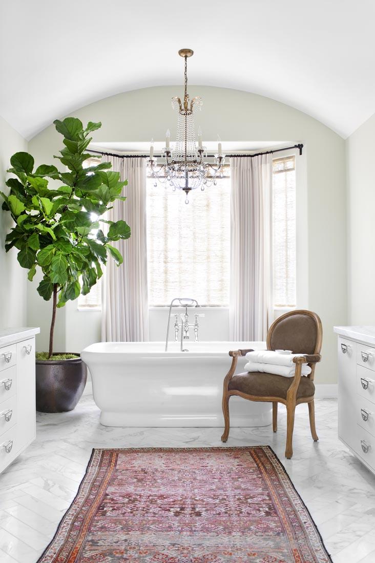 Fiddle Leaf Fig Tree Inspiration - Beverly Hills | Burnham Design