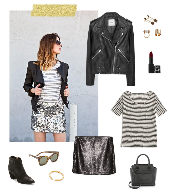 Date Night Sequins | How She'd Wear It with Style and Cheek