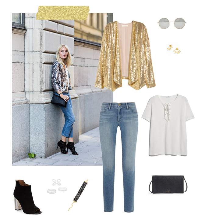 Daytime Sequins | How She'd Wear It with Style and Cheek