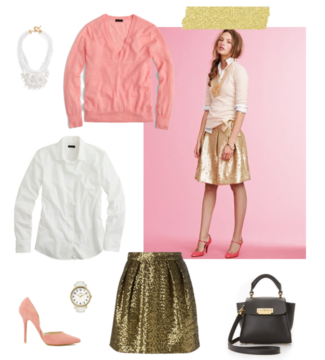 Office Appropriate Sequins | How She'd Wear It with Style and Cheek