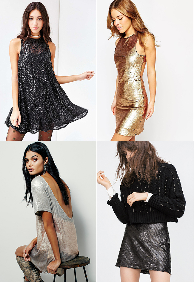 Sequin Style | How She'd Wear It with Style and Cheek
