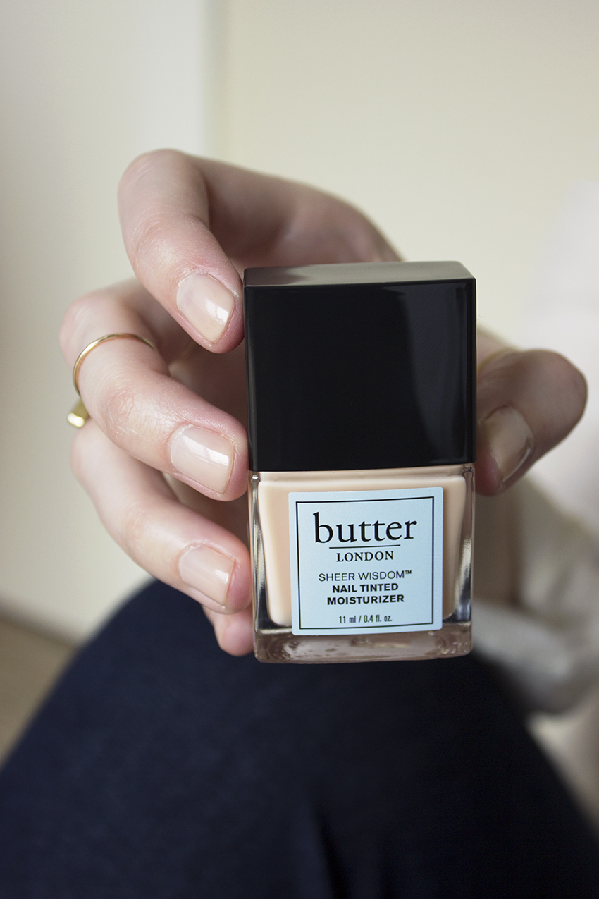 butter LONDON Sheer Wisdom Nail Tinted Moisturizer Giveaway with Style and Cheek