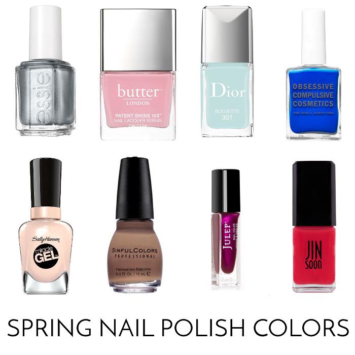 Beauty Basics - Spring Nail Polish Colors