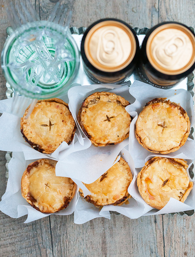 8 Savory Guinness Recipes - Beef and Guinness Hand Pies | Spache the Spatula