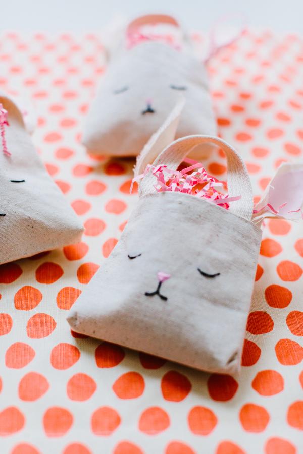 Pinterest Picks - Easter Ideas - DIY Mini Bunny Bag | Style Me Pretty