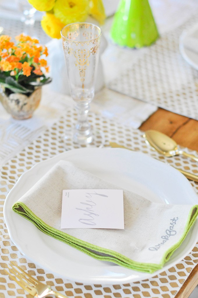Pinterest Picks - Easter Ideas - DIY Paint Chip Place Cards for Easter | The Proper Blog