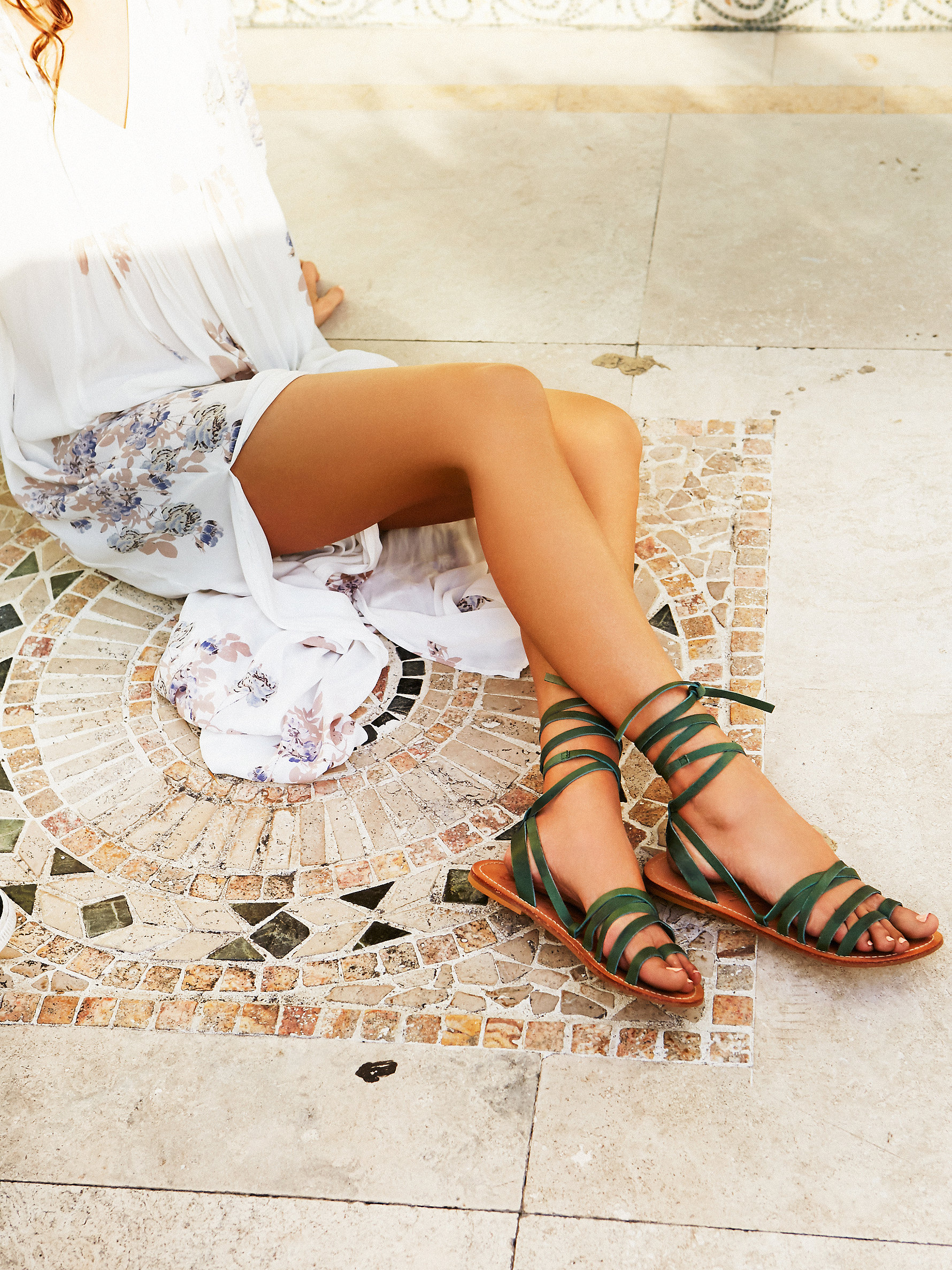 Free People's Sexy Strappy Sandals - FP Collection Harpoon Wrap Sandal at Free People Clothing Boutique