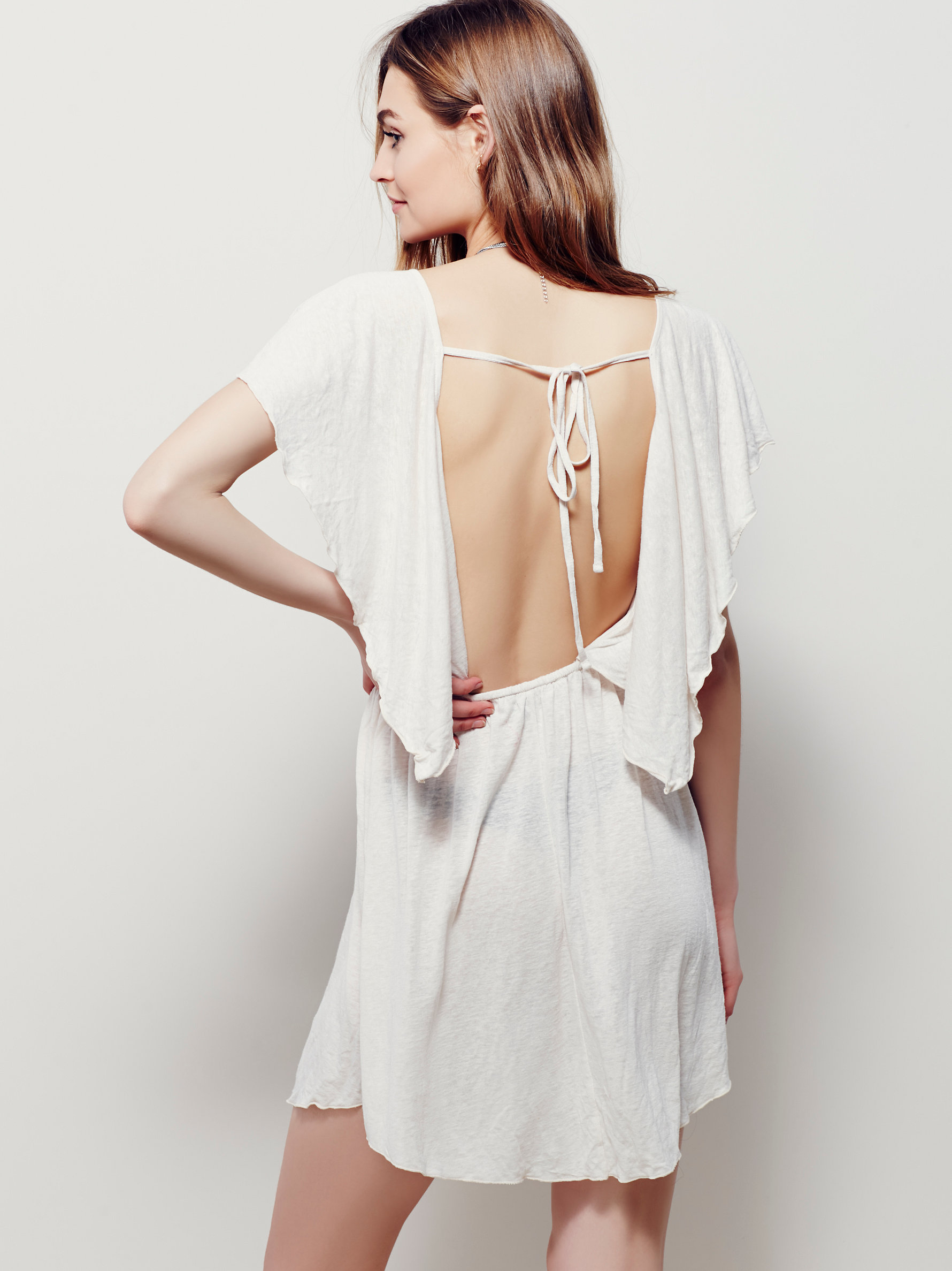10 Perfect White Vacation Dresses - Free People Ana Swing Dress