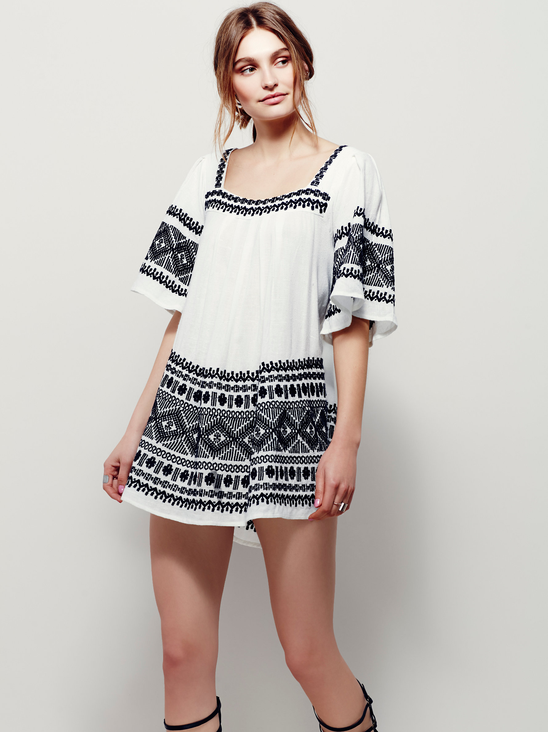 10 Perfect White Vacation Dresses - Free People Yuma Dress