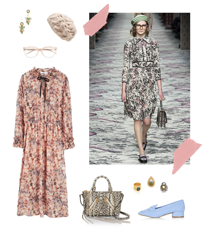 Gucci's Spring Florals | How She'd Wear It with Style and Cheek