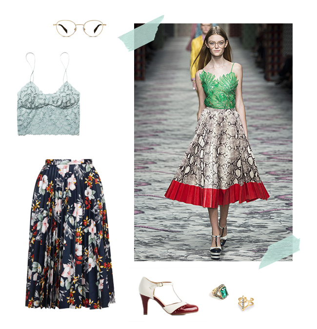 Gucci's Stunning Prints and Patterns | How She'd Wear It with Style and Cheek
