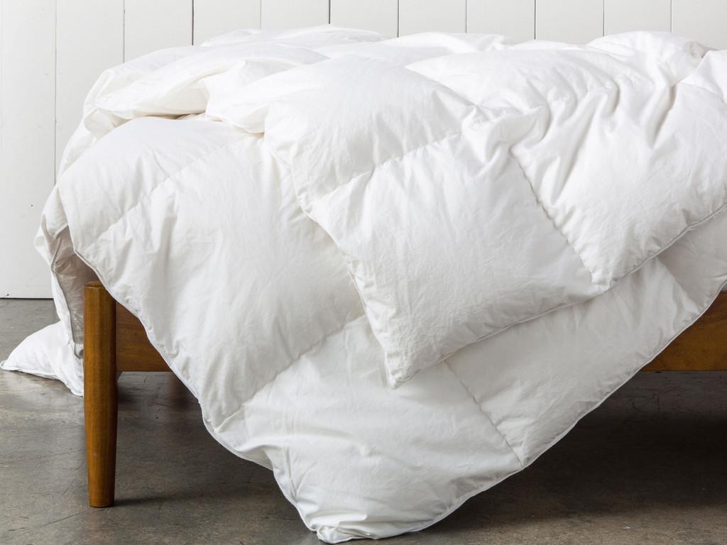 Parachute Bedding Review - Down Duvet | Parachute