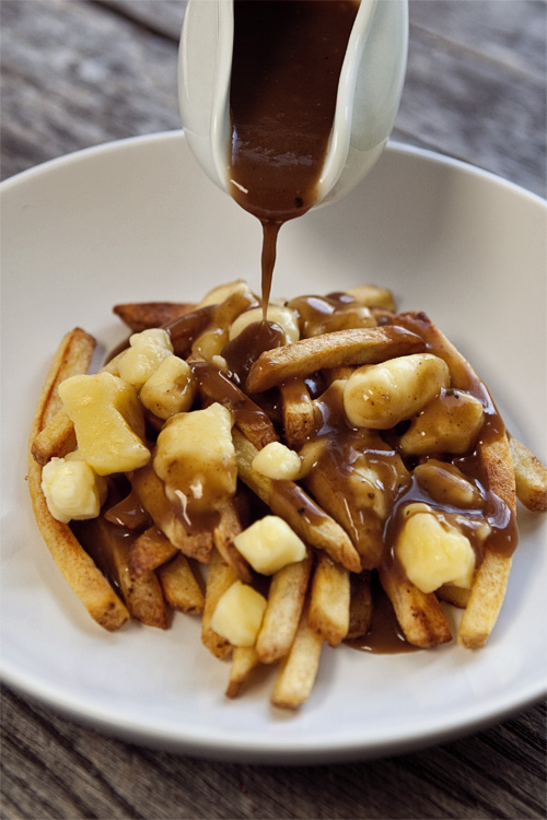 8 Savory Guinness Recipes - Poutine with Guinness Gravy Sauce | Food for My Family