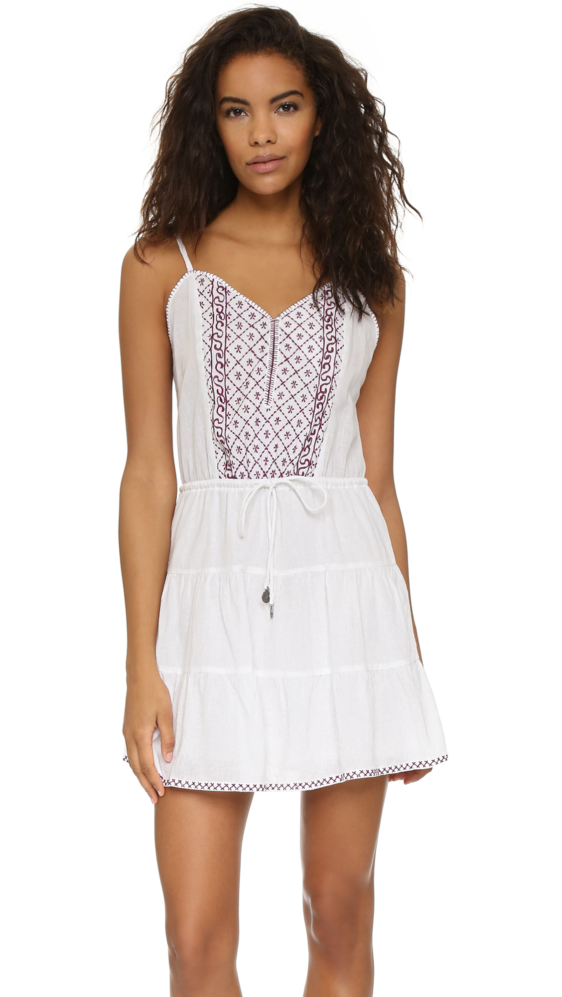 10 Perfect White Vacation Dresses - Tigerlily Lovech Dress