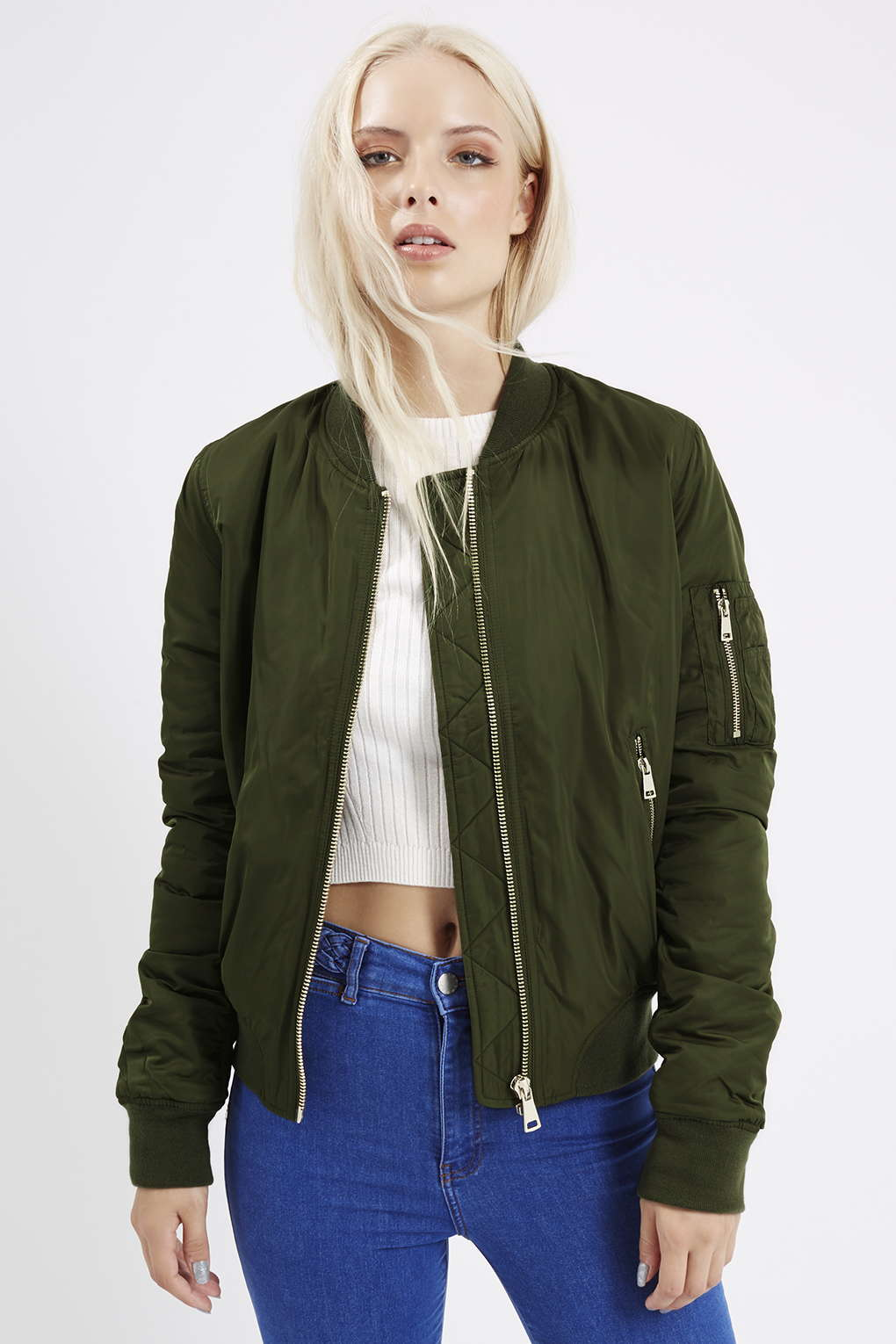 Bomber Jackets for Spring - Topshop MA1 Bomber Jacket